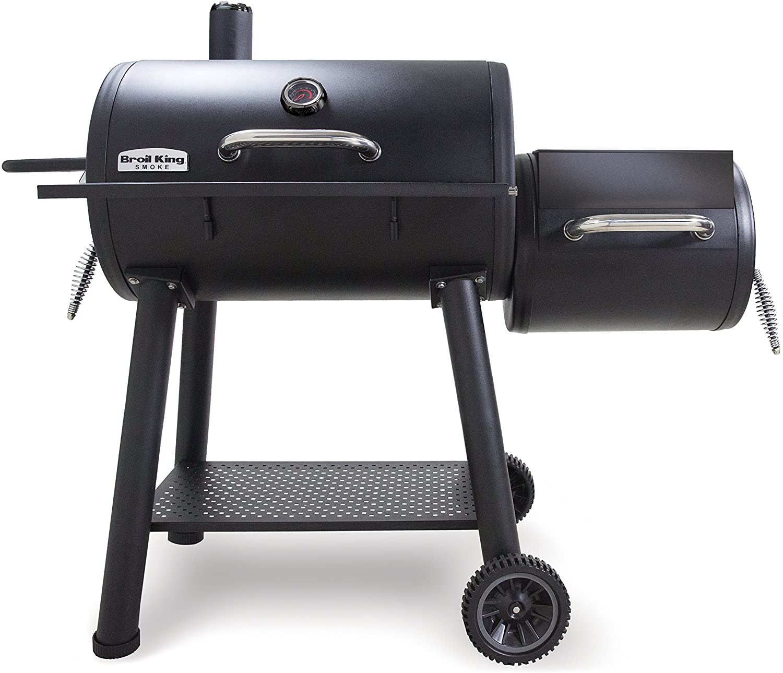 Broil-King Smoke Offset Charcoal Smoker