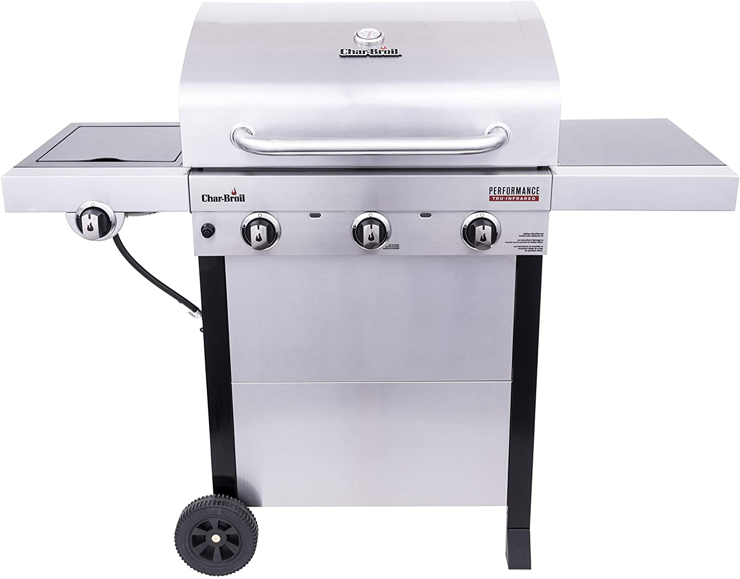 Char-Broil 463370719 Performance Tru-Infrared 3-Burner Cart Style Gas Grill